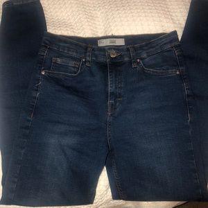 TOPSHOP Jamie skinny jeans size W28 L32